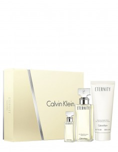 Calvin Klein Eternity for Women Coffret Edp 100 ml + Edp 15 ml + Body Lotion 200 ml
