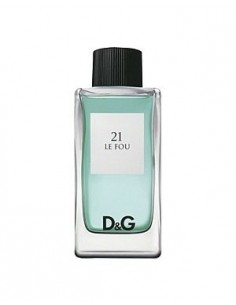 Dolce & Gabbana 21 Le fou Edt 100 ml spray- TESTER