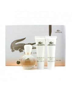 Lacoste Eau De Lacoste Her Set (Edp 50 ml Spray +Gel Doccia 50 ml + Body Lotion 50 ml)