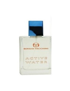 Sergio Tacchini Active Water Eau de Toilette 100 ml Spray - TESTER