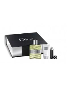Dior Eau Sauvage Gift Set Edt 100 ml spray + Mini 3 ml + Shower Gel 50 ml