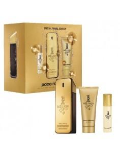 Paco Rabanne One Million Special Travel Edition (Edt 100 ml Spray + Edt 15 ml + Shower Gel 100 ml)