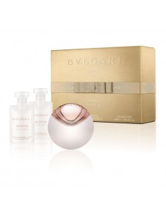 Bulgari Aqua Divina Set (Edt 40 ml Spray + Shower Gel 40 ml+ Body Lotion 40 ml)