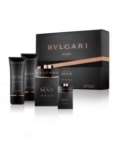Bulgari Man In Black Set (Edp 100 ml Spray + Edp 15 ml+ Shower Gel 100 ml + After Shave 100 ml)