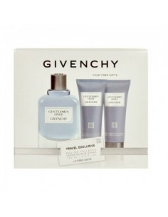 Givenchy Gentlemen Only Travel Exclusive Edt 100 ml Spray+ Gel Doccia 75 ml+ After Shave Balm 75 ml