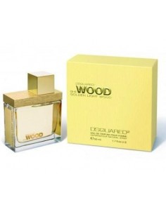 Dsquared She Wood Golden Light Eau De Parfum 50 ml spray