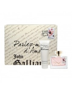 John Galliano Parlez Moi D' Amour Set (Edt 50 Ml Spray + Body Lotion 125 ml)