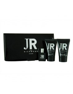 John Richmond For men Set ( Eau de Toilette 4,5 ml + Bagno Schiuma 25 ml + After Shave Balm 25 ml)