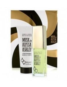 Alyssa Ashley Musk Set (Edt 50 ml Spray + Lozione idratante mani e corpo 100 ml)