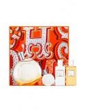 Hermes Eau des Merveilles Coffret Edt 100 ml + Mini 7,5 ml + Body Lotion 40 ml + Shower Gel 40 ml