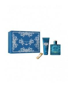 Versace Eros pour Homme Coffret Edt 100 ml + Shower Gel 100 ml + Fermasoldi