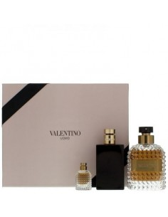 Valentino Uomo Coffret Edt 100 ml + After Shave Balm 100 ml + Miniatura