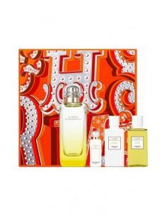 Hermes Jardin de Monsieur Li Gift Set - Edt100 ml + Mini 7,5 ml + BL 40 ml + SG 40 ml
