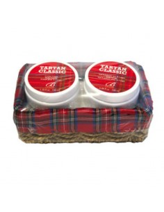 Borsari Tartan Classic Set Body Cream 100 ml + Scrub 100 ml