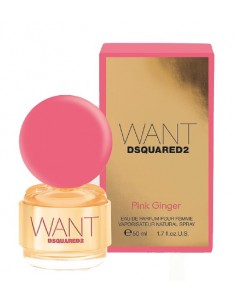 Dsquared2 Want Pink Ginger For Woman Edp 50 Ml Spray