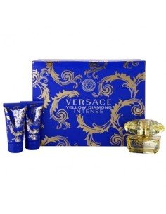 Versace Yellow Diamond Intense Set (Eau De Parfum 50 ml Spray+Body Lotion 50 ml)