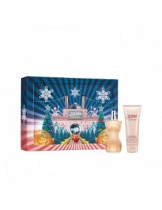 Jean Paul Gaultier Le Classique Set (Eau De Toilette 100 ml Spray + Body Lotion 75 ml)