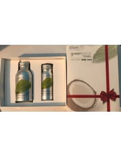 GreenLand Italia Gift Collection Olio Massaggio Menta e Lavanda 120 ml + Shower Gel Menta e Lavanda 250 ml