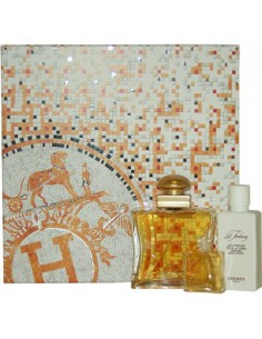 Hermes 24 Faubourg Coffret ( Edp 50 ml Spray + Miniatura Deluxe 7,5 ml + Perfumed Body Lotion 40 ml)