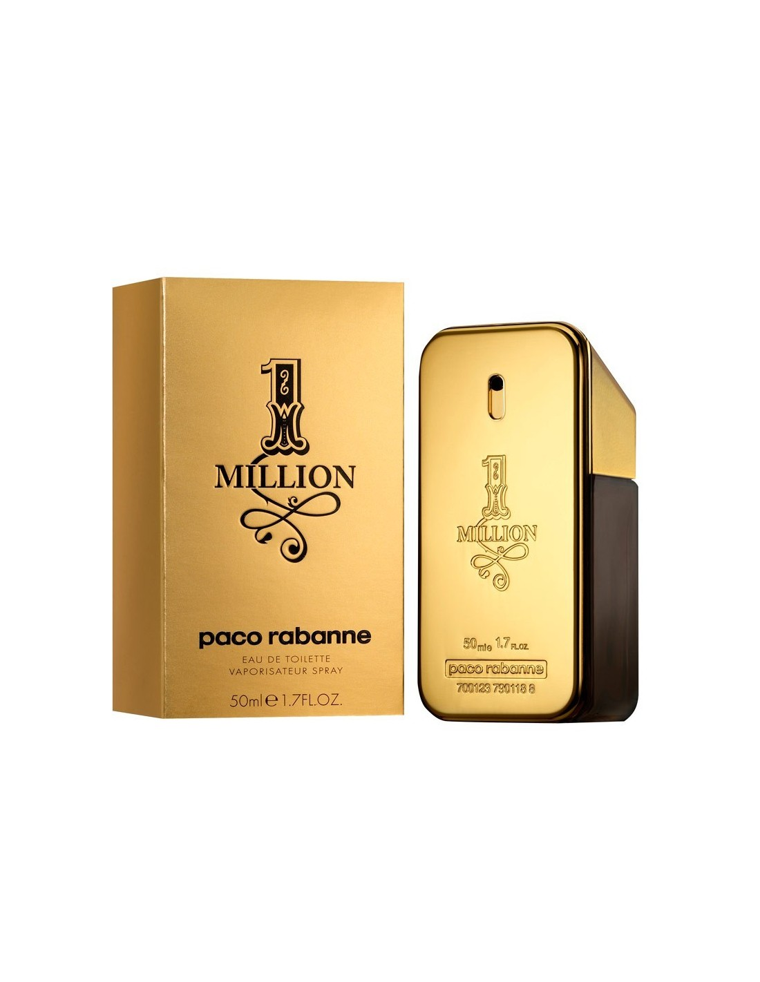 Dettagli su 1 MILLION Paco Rabanne One million edt 100ml Uomo Spray Originale Senza Scatola
