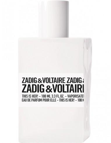 Zadig & Voltaire This is Her! Eau de Parfum 100 ml spray - TESTER
