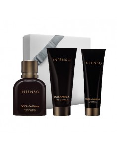 Dolce & Gabbana Intenso Set Edp 125 ml + After Shave Balm 150 ml + Shower Gel 50 ml