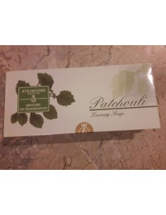 Atkinsons Patchouli Luxury Soap Set 3 pezzi