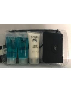 Borsari Set : Shower Gel 100 ml+Sapone Liquido Antibatterico 100 ml+Latte Corpo 100 ml