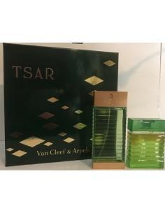 Van Cleef & Arpels Tsar Set Vintage (Eau De Toilette 100 ml Spray + Shower Gel 100 ml)