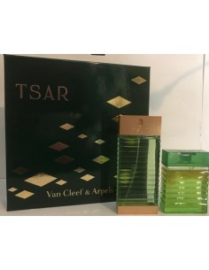 Van Cleef & Arpels Tsar Set Vintage (Eau De Toilette 100 ml Spray + Shower Gel 100 ml)