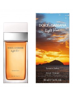 Dolce & Gabbana Light Blue Sunset in Salina Eau De Toilette 50 ml Spray