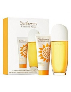 Elizabeth Arden Sunflowers Set (Edt 100 ml Spray + Body Lotion 100 ml)