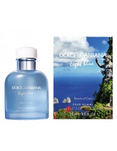 Dolce & Gabbana Light Blue Beauty of Capri Pour Homme Eau de toilette 75 ml Spray