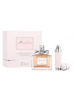 Christian Dior Miss Dior Cherie Set (Eau De Parfum 100 ml Spray + Refill Eau De Parfum 8 ml)