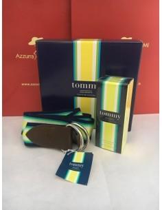 Tommy Hilfiger Tommy Brights Boy Neon Set Eau de Toilette 50 ml+ Cintura per lui