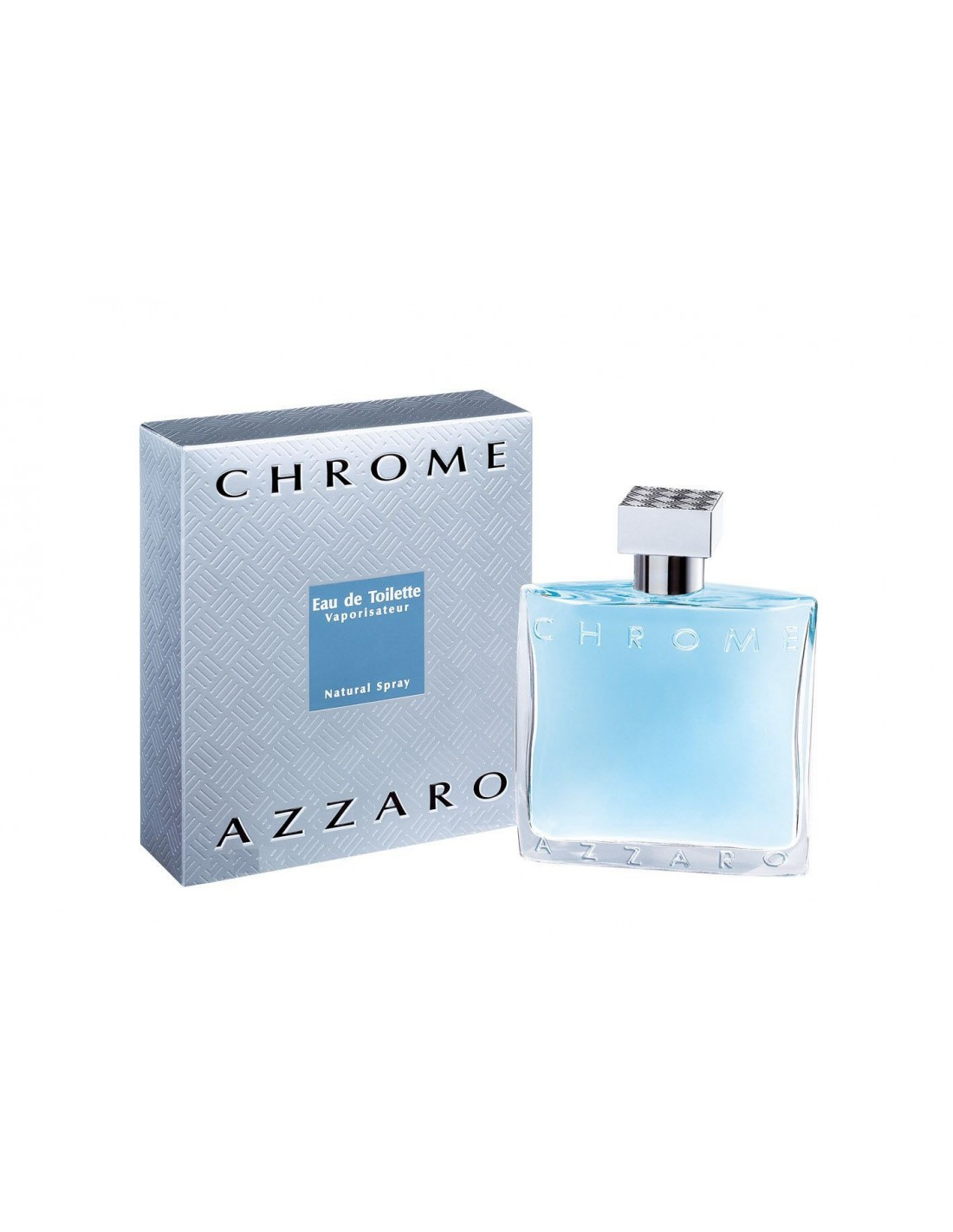 azzaro chrome eau de toilette 100 ml spray azzurra profumi. Black Bedroom Furniture Sets. Home Design Ideas