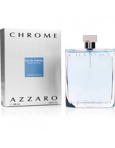 Azzaro Chrome Eau de toilette 200 ml spray