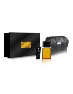 Azzaro Pour Homme Set (Edt 100 ml Spray + Shower Gel 50 ml + Bag)