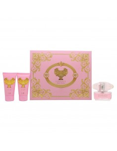 Versace Brigt Crystal Cofanetto - Eau de Toilette 50 ml + Body Lotion 50 ml + Shower Gel 50 ml