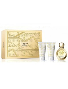 Versace Eros Pour Femme Cofanetto - Eau de Toilette 50 ml + Body Lotion 50 ml + Shower Gel 50 ml