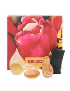 Kenzo Miniature Vintage Coffret ( Kenzo de Kenzo 4 ml + Kenzo pour homme 5 ml+Kashaya 5 ml + Parfum d'Ete 5 ml)
