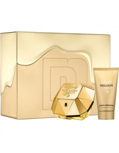 Paco Rabanne Lady Million Travel Edition Edp 80 ml + Body Lotion 100 ml + Travel 15 ml