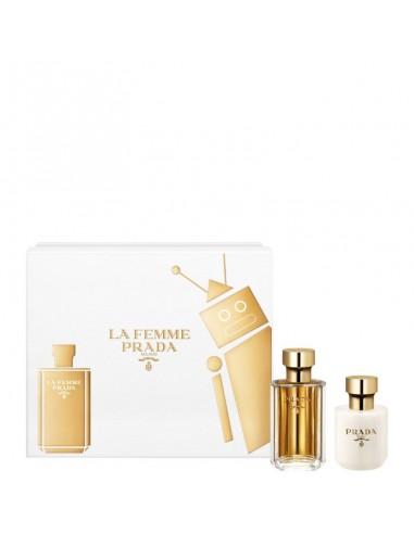 Prada La Femme Coffret Edp 100 ml + Body Lotion 100 ml + Mini 10 ml