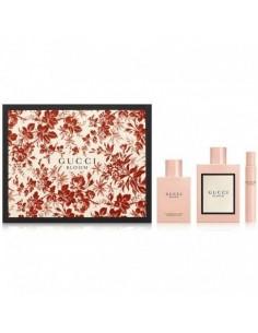 Gucci Bloom Set (Eau De Parfum 100 ml Spray + Body Lotion 100 ml +Mini 7,4 ml)