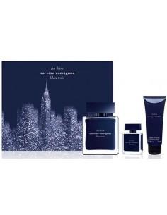 Narciso Rodriguez for Him Bleu Noir Set (Eau de toilette 100 ml spray + Shower Gel 75 ml + Mini 10 ml)