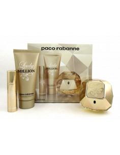 Paco Rabanne Lady Million Set Eau de parfum 50 ml + Body Lotion 75 ml