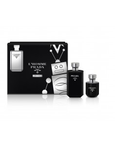 Prada L'homme Intense Set - Eau de parfum 100 ml + Shower Gel 100 ml