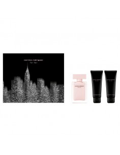 Narciso Rodriguez For Her Set - Edp 50 ml Spray + Body Lotion 75 ml + Shower Gel 75 ml