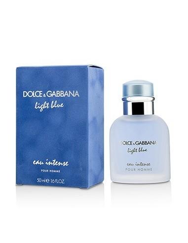 dolce gabbana light blue pour homme intense eau de parfum 50 ml spray azzurra profumi. Black Bedroom Furniture Sets. Home Design Ideas