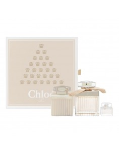 Chloe' Fleur de Parfum Set - Eau de parfum 75 ml + Edp mini 5 ml + Body Lotion 100 ml